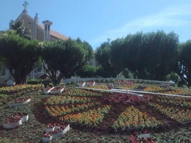 Inauguração do Relógio das Flores!